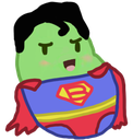 superman_bean Discord Emoji