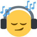 jamming_headphones Discord Emoji