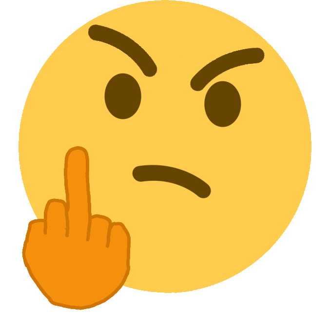 mad_person_middle_finger Discord Emoji