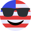 sunglasses_us Discord Emoji