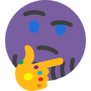 thanos_think Discord Emoji