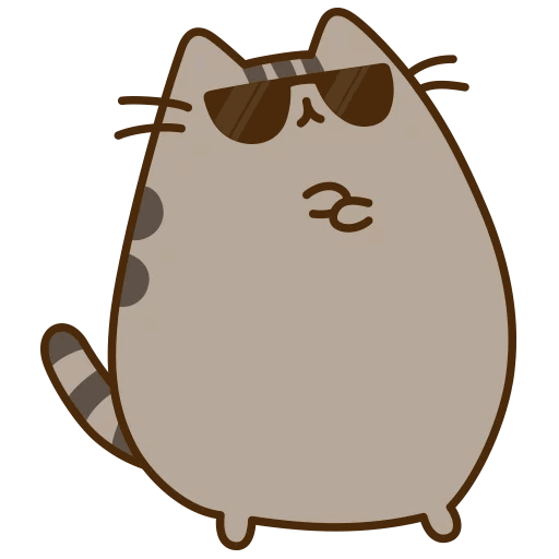 cool_pusheen Discord Emoji