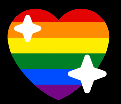 gay_sparkle_heart Discord Emoji
