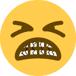 tighteyescrackedteeth Discord Emoji